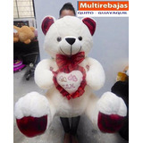 Peluches Gigantes Con Corazon Musical Y Luces Led