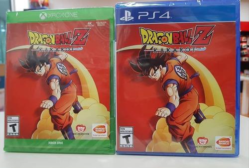 Dragon Ball Z Kakarot Ps4 Físico Sellado Entrega Inmediata!