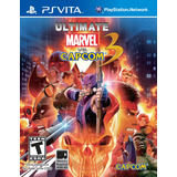 Ultimate Marvel Vs Capcom 3 Usado Psvita