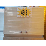 Mueble Cocina Modular Melamina 2 Puertas 49 Usd Bace Modular