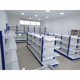 Gondolas, Estanterias Perchas Supermercado Farmacias,  Racks