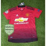 59cb30420095f Camisetas Manchester United 2018-2019 Titular Alterna