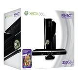 Xbox 360 Kinect 250gb + 21 Juegos Originales, Usado