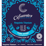 Cuerdas Requinto Pro Ac4 Nickel Plated Cifuentes Strings