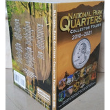 Folder  Whitman Monedas Quarters Parques Nacionales, Cuartos