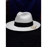 Sombrero De Paja Toquilla (panama Hat) Super Fino