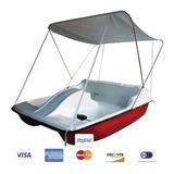 Bote A Pedal - Hidropedal Con Carpa