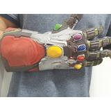 Guantelete Iron Man Con Luces Led Avengers Endgame Thanos