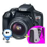 Camara Canon T6 Wifi + G R A T I S Tripode + Mochila + 128gb