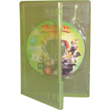 Caja 14mm Verde Transparente Simple Dvd