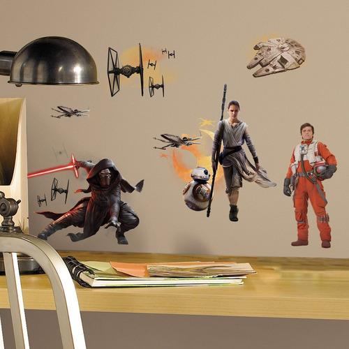 Adhesivos Star Wars Episodio Vii Para Muros