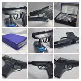 Pistola Police Compacta Italiana 9mm Salvas