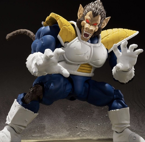 S.h. Figuarts Great Ape Vegeta. Dragon Ball. Bandai
