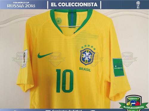 47ea7a68567d3 Camiseta Brasil Nike Vaporknit Neymar Jr Mundial Bajo Pedido