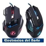 Mouse Gamer 7 Teclas 1600 Dpi Retroiluminado Pc Laptop
