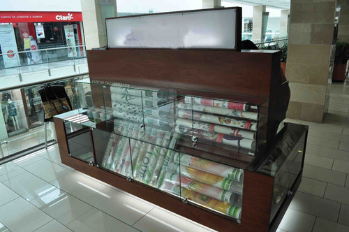 Mueble vitrina estantes tipo isla para centro comercial - Centro comercial del mueble ...