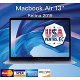 Macbook Air 2019 Core I5 8gb 13.3 Retina 128gb Incluye Iva