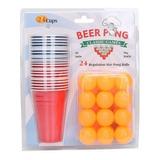 Juego De Mesa Clasico Beer Pong Americano Importado