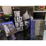 The Last Of Us Part 2 Ps4 Nuevo Físico Español A Domicilio!