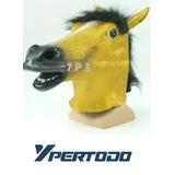 Mascara Cabeza Caballo Amarillo Harlem Shake Creepy Horse