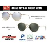 Gafas Ray Ban Round Metal G-15 Rb3532 100% Originales