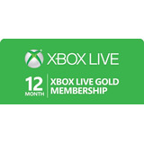 Xbox Live Gold  12 Meses