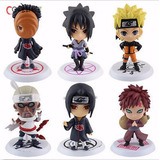 Set De 6 Figuras De Naruto Anime De Colección!