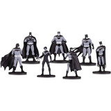 Dc Collectibles Batman Black White 7 Figuras Series 1-2-3-4