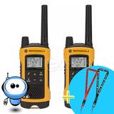 Motorola Radios Walkie Talkie 56km T402 Resiste Agua + Regal