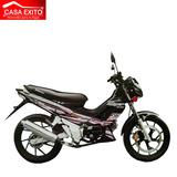 Moto Qmc Kb125c9b Kembo 125cc Año 2014 Color Azul/negro/rojo