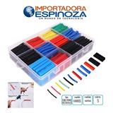 Kit De Protectores Termoretractiles Varios Colores En Caja