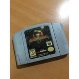 Juego Nintendo 64 Mortal Kombat 4 Original