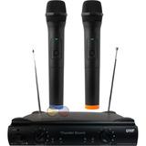 Thunder Sound Micrófono Inalámbrico Uhf + Receptor