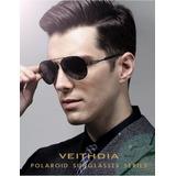 Gafas De Sol Veithdia Para Hombre Uv400 Aluminio Polarizado