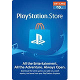 Tarjetas Prepago Playstation Network Card Usa Psn  $10