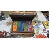 Colección Libros Harry Potter 1-7 + Baúl