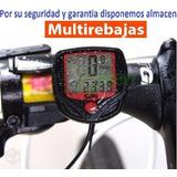 Velocímetro Odómetro Para Bicicleta Con 11 Funciones