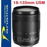 Lente Canon Ef-s 18-135mm F/3.5-5.6 Is Usm Nuevo De Paquete