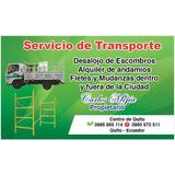 Alquiler Camion Y Camioneta Doble Cabina Fletes Y Mudanzas