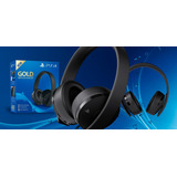 Audifonos Headset Gold Originales Ps4 Play Station 4