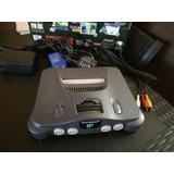 Nintendo 64 Original + Adaptador + Cable Rf + N64 Nintendo