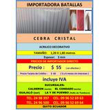 Acrilico Cebracristal 1.20 X 1.80 Mtros Policarbonato Teja M