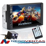 Radio Para Carro Doble Din Mp5 Video Usb Sd Bluetooh Hd