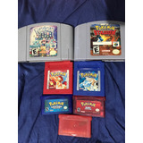 Juegos Gameboy Nintendo Pokemon Stadium Puzzle Rojo Azul