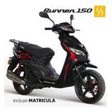 Moto Tundra Runner 150cc Motor 4 Tiempos Incluye Matricula