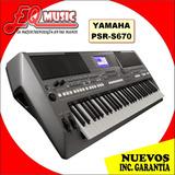 Teclado Yamaha Psr S670 Nuevos De Paquete