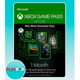 Xbox Game Pass Membresía Suscripción 1 Mes