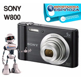 Sony Camara Digital Dsc-w800 Cybershot 20.1