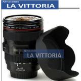 Taza Vaso Termico En Forma De Lente De Camara Canon Nikon