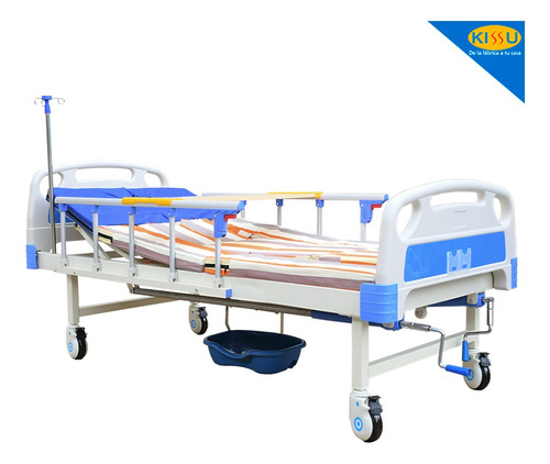 Cama Hospitalaria Proel G3 Manual Urinario Baranda Movible